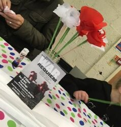 TPS in partnership with 'Tonbridge Creates' for Poppy-Making workshops